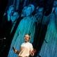 "Felix Knopp spektaklyje ""Checkpoint Woodstock"". K. Angerer nuotr."