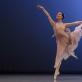 """Kamilė Pilibaitytė šoka variaciją iš """"Čaikovskio Pas de deux"""". M. Aleksos nuotr."""
