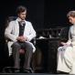 """Mantas Barvičius ir Jonė Dambrauskaitė spektaklyje """"Daktaras Glasas"""". D. Labučio nuotr."""
