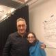 Moisés Kaufman ir Amy Oestreicher. Autorės nuotr.