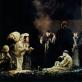 """Scena iš 1998 m. Lietuvos nacionalinio dramos teatro spektaklio """"Edipas karalius"""". D. Matvejevo nuotr."""