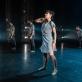 """Scena iš šokio spektaklio """"Akli žodžiai"""". M. Zakrzewskio nuotr."""