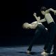 """Vilija Montrimaitė ir Haruka Ohno choreografinėjė kompozicijoje """"Vingiuotos mintys"""" (""""Kūrybinis impulsas""""). M. Aleksos nuotr."""