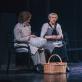 """Diana Anevičiūtė ir Vitalija Mockevičiūtė spektaklyje """"Mūsų miestelis"""". KJT archyvo nuotr."""