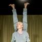 """Jenny Soddu spektaklyje """"Tvarkos diena"""". D. Matvejevo nuotr."""