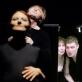 """Nelė Savičenko (Gertrūda) ir Dainius Gavenonis (Klaudijus, Šmėkla) spektaklyje """"Hamletas"""". D. Matvejevo nuotr"""
