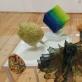 Japonų miniatiūrų ekspozicijos fragmentas. J. Lapienio nuotr.