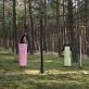 """Performansas """"Log Log"""". Nicolas Buzzi and Harmony. Vilniaus dailės akademijos Nidos meno kolonija"""