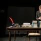"Gytis Laskovas spektaklyje ""Kafka Insomnia"". J. Lasauskaitės nuotr."