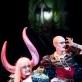"""Lolita Zero ir Twoja Stara spektaklyje """"Borderline Queen. Kerštas"""". D. Matvejevo nuotr."""
