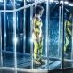 "Oneida Kunsunga ir Nelė Savičenko spektaklyje ""Soliaris 4"". D. Matvejevo nuotr."