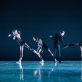 Scena iš M.K. Čiurlionio menų mokyklos Baleto skyriaus moksleivių kompozicijų vakaro. T. Ivanausko nuotr.