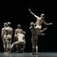 """Scena iš šokio spektaklio """"Šventasis pavasaris"""". M. Aleksos nuotr."""