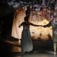 """Scena iš spektaklio """"Ne sau žmonės"""". S. Baturos nuotr."""