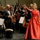 Elīna Garanča ir Lietuvos nacionalinis simfoninis orkestras. M. Aleksos nuotr.