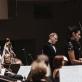 Liudas Mikalauskas, Ieva Prudnikovaitė, Gintaras Rinkevičius ir Lietuvos valstybinis simfoninis orkestras. G. Jauniškio nuotr.