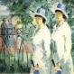 "Kazimir Malevich, ""Dvi seserys"", replika. 2014 m. XX a. trečiojo dešimtmečio pabaiga, datuotas 1910 m."