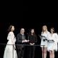 Auksinių scenos kryžių teikimo ceremonija (2018) už 2017 m. kūrybą. NKDT archyvo nuotr.