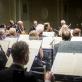 Modestas Pitrėnas ir Lietuvos nacionalinis simfoninis orkestras. D. Matvejevo nuotr.