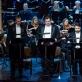 Egidijus Dauskurdis, Dainius Stumbras, Rafailas Karpis, Mindaugas Jankauskas ir Nacionalinis simfoninis orkestras. M. Aleksos nuotr.