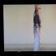"""Aleksas Andriuškevičius, """"Judėjimas vietoje"""", kadras iš videofilmo. Filmavo R. Rickevičius. 10-ojo deš. pradžia. A. Narušytės nuotr."""