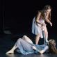 """Kira Tykhonova ir Julija Stankevičiūtė šokio spektaklyje """"Eglė žalčių karalienė"""". M. Aleksos nuotr."""