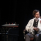 """Mantas Barvičius ir Rolandas Kazlas spektaklyje """"Daktaras Glasas"""". D. Labučio nuotr."""