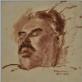 """Roza Suckever, """"Pomirtinis Jokūbo Geršteino portretas"""", 1942 m. Vilniaus Gaono žydų istorijos muziejus"""