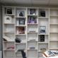Algimanto Kezio fotografijos leidinių ekspozicija Laikrodinėje bibliotekoje, Plungė, 2018 m. A. Narušytės nuotr.