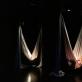 """Instaliacijos """"Parasomnija"""" kambarys. J. Peixoto nuotr."""