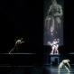 """Scena iš šokio kompozicijos """"Adomo sukūrimas"""". M. Aleksos nuotr."""