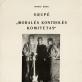 """Linas Jablonskis, """"Moralės kontrolės komiteto"""" koncerto plakatas. 1991 m."""