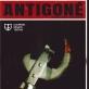 """Spektaklio """"Antigonė"""" plakatas"""