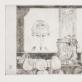 """Lili Janina Paškauskaitė, """"Autoportretas veidrodžio atspindyje"""", 1966 m. MO muziejus"""