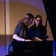"Koncerto ""Kūrybos tiltai: tada ir dabar"" akimirka, nuotr. V. Zonytės"