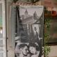 """Filmo apie Vitą Luckų """"Meistras ir Tatjana"""" (rež. Giedrė Žickytė) plakatas kino teatre """"Lira"""". 2020 m. Organizatorių nuotr."""