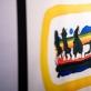 """Vilmanto Marcinkevičiaus piešinių ciklo """"X Dievo įsakymų"""" fragmentas. Galerijos nuotr."""
