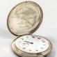 """1937 m. Europos krepšinio čempiono apdovanojimas – šveicariškas kišeninis laikrodis """"Paul Buhré""""."""