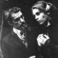 """Vaiva Mainelytė (Ela Rentheim) spektaklyje """"Junas Gabrielis Borkmanas""""."""