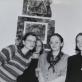 """1992 m. Grupė """"Keturios"""": Judita Budriūnaitė, Aušra Andziulytė, Elena Balsiukaitė, Aušra Barzdukaitė."""