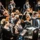 Solistai Liene Kinča, Olesia Petrova, Andreas Schageris, Rihardas Mačanovskis, dirigentas Modestas Pitrėnas ir LNSO. D. Matvejevo nuotr.