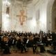 Koncerto Vilniaus Švč. Mergelės Marijos Ėmimo į dangų (pranciškonų) bažnyčioje akimirka. M. Aleksos nuotr.