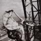Erwin Blumenfeld, Lisa Fonssagrives ant Eifelio bokšto, 1939 m. Erwin Blumenfeld paveldo fondas