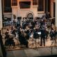 """""""Future Symphony"""" orkestras, dirigentas Adomas Morkūnas Budrys. J.Šopos nuotr."""