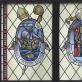 Algirdas Dovydėnas, vitražas Šv. Mikalojaus bažnyčioje, Vilniuje
