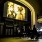 "Kadras iš nebylaus filmo ""Senasis įstatymas"", akompanuoja ""Orchester Jakobsplatz München"", diriguoja Danielis Grossmannas. D. Matvejevo nuotr."