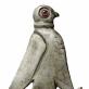 Paukščio plėšrūno pavidalo fibula.  VI a. Gotai, radimvietė nežinoma.