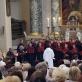 """Schola Gregoriana Vilnensis"", dirigentas Michałas Sławeckis. Vilniaus arkikatedra bazilika. G. Pranckūno nuotr."