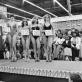 """David Goldblatt, """"Šeštadienio rytas prekybos centre. Mis """"Gražiausios kojos"""" konkurso pusfinalis"""". 1980 m."""