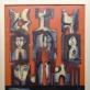 """Alfonsas Dargis, """"Sudaužytas žmogus"""". 1983 m. A. Narušytės nuotr."""